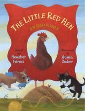 THE LITTLE RED HEN - FOREST, HEATHER (RTL)/ GABER, SUSAN (ILT) - NEW PAPERBACK B