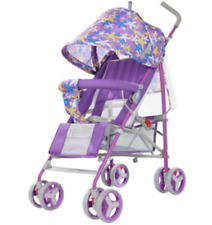 Buggy Hello Panda 312 Kinderwagen Sitz- Liegefunktion Citybuggy klappbar, purple