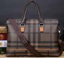 Men fashion England Messenger Leather Shoulder Briefcase handBags business Bags