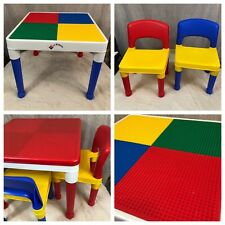 LEGO Table Tot Tutors Activity With Chairs All Removable Legs FREE SHIPPING