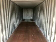 Used 40 High Cube Steel Storage Container Shipping Cargo Conex Seabox Tampa