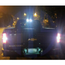 Total 1600LM White 921 LED Reverse Backup Light Bulbs For 15-18 Chevy Silverado