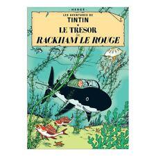 Affiche Offset Tintin Le trésor de Rackham Le Rouge