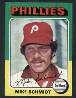 1975 Topps #70 Mike Schmidt NM/NM+ Phillies 114648