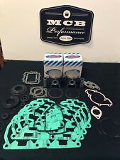 2003 Ski Doo MXZ 440 liquid cooled piston kit complete 65mm bore full gasket set