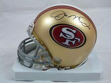 Joe Montana HOF San Francisco 49ers Signed Retro Mini Helmet with Photo Proof