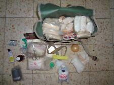 Idf Zahal Medic Medical Bag Old Vintage Tourniquet Gauze Dressing Bandage Israel