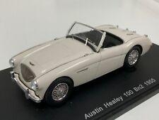 1/43 Spark Street 1955 Austin Healey 100 BN2 in White S0802