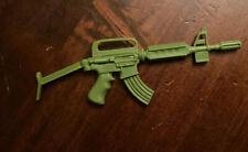 ACTION MAN VINTAGE MACHINE GUN WITH MAGAZINE VGC RARE TIDY