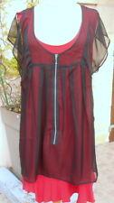 robe + tunique voile * la mode est à vous * LMV taille 42   * MONACO * neuf s.et