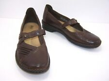 BASS Bryant Womens Mary Jane Slip On Shoe Size 8.5 Brown Leather