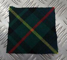 Genuine British Army Pattern Wool Tartan Scottish Tam O`Shanter Badge Patch PS1