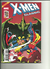 X-MEN CLASSIC 1 (PORT GRATUIT/BD SUPPLEMENTAIRES) PANINI COMICS JOHN BYRNE !!!!!