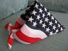 NEW USA PROUD AMERICAN FLAG DESIGN PATRIOTIC HEAD WRAP BANDANA-BIKER-ROCKER