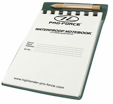 WATERPROOF NOTEBOOK PENCIL for notepad is tear proof reusable