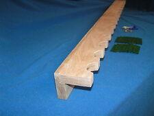 14 gun  closet gun rack - solid oak construction