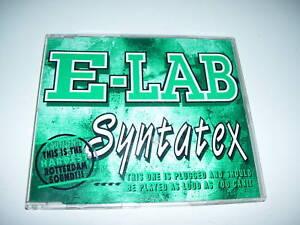 e-lab syntatex rotterdam hardest sound ( RARE 1993 )
