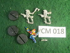 Fuera de imprenta Warhammer 40k Eldar harlequinns x3 1988/90 Metal ref CM018