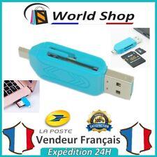 Clé USB Adaptateur MicroSD OTG SD Pour Android Tablette Lecteur De Carte