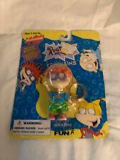 Vintage RUGRATS Chuckie Keychain Movable Parts 1997 Nickelodeon NIB