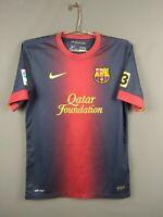 4.1/5 Barcelona jersey Small 2012 2013 home shirt 478323-410 football Nike ig93
