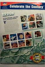 US HISTORY #3191 CELEBRATE THE CENTURY 1990's 15 MVF 33c STAMP SHEET SEALED NIP