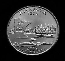 2005 P Minnesota State Quarter 25c PCGS MS66 Business Strike