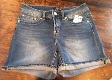 NWT Women's SEVEN 7 Hermosa Blue Shorts Size 6 $49