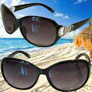 Ladies Foster Grant Sun Readers Design Bifocal Prescription Read Sunglasses #1