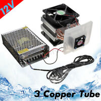 3 Copper Tube Cooling Thermoelectric Peltier Refrigeration Cooling System
