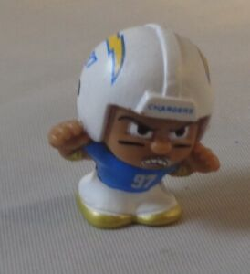 """2020 NFL Silver Series 9/1"""" Football Collectible Toy Figure Bosa Chargers"""