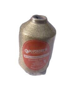 Gold Metalic/lurex Yarn On 500g Cone.