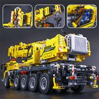 20004 2606Pcs Technic Motor Power Mobile Crane Mk II Model Building Blocks Toys