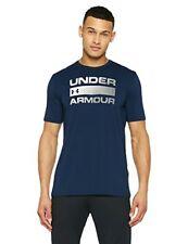 T-shirt Homme Team issue Wordmark Under Armour Bleu Marine 52