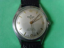 Vintage Swiss Breitling 17J Mechanical Manual Used Watch