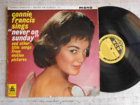 Connie Francis ‎– Never On Sunday -  LP MONO