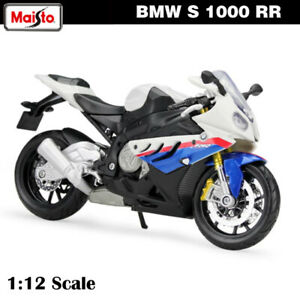 Maisto 1:12 BMW S1000 RR Motorcycles Assembled Building Car Die-Cast Collection