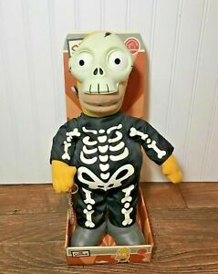 RARE Skelly Homer Simpson in Skeleton Halloween Costume Plush w/tag, NEW