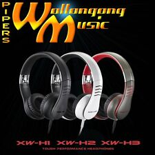 Casio Headphones XW-H1 Black | XW-H2 White | XW-H3 Grey/Red - $199 rrp
