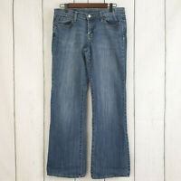 LUCKY BRAND sz 29 Dungarees Women's Mid-Rise Flare Jeans Medium Wash