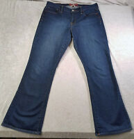 Women's Lucky Brand Sofia Boot Jeans Size 10/30 Dark Wash - Excellent Condition!