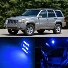 7Pcs Blue SMD LED Interior Lights Kit For 1993-1998 Jeep Cherokee ZJ Grand WK