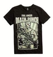 Five Finger Death Punch 5FDP GOT YOUR SIX T-Shirt NEW Authentic & Official