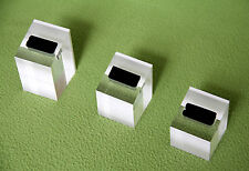3pcs Ring Stand Display Holder Acrylic JEWELLERY SHOWCASE Countertop 3 Size