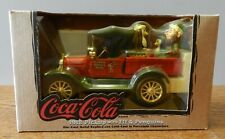 1997 Ertl 1918 Delivery truck Coca Cola 1:25 scale coin bank