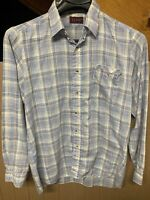 Vintage Levi's Button Down Shirt; Mens XL; White Tab; Made In USA