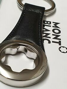 Mont Blanc Leather Key Ring 112697