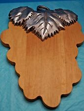 Cutting Board wood and alluminum