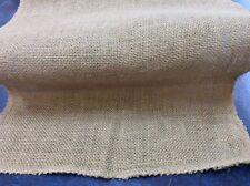 "12"" Natural Burlap Hessian Fabric Per Metre"