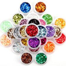 Decorazioni brillantini brillante in plastica per unghie
